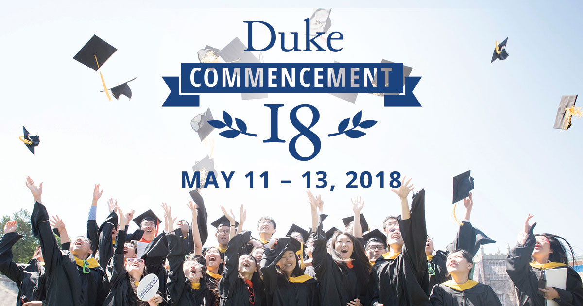 Apparel | Duke Commencement 2018