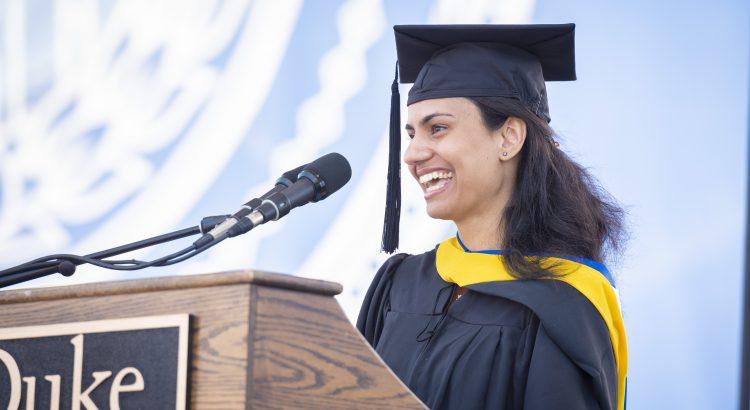Duke Graduation 2020.Student Speaker Selection Committee Duke Commencement
